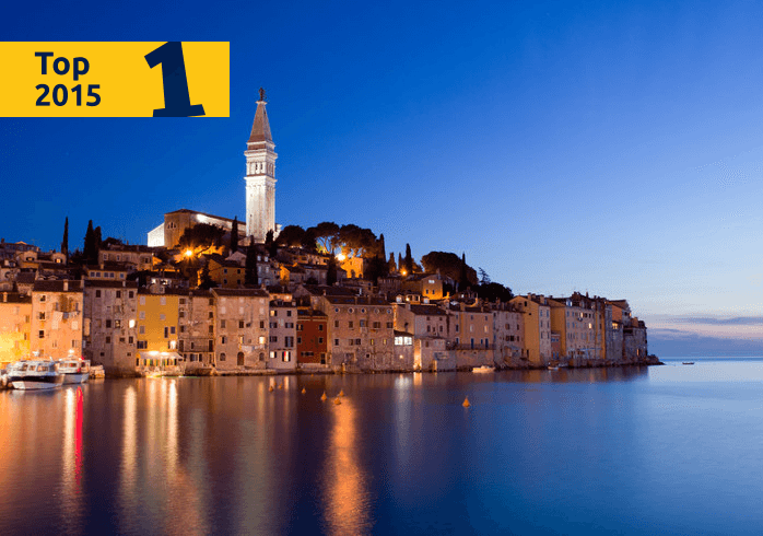 Rovinj, the best holiday resort in Croatia