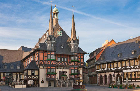 The old Town Hall of Wernigerode