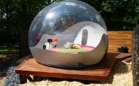 Transparent ball shaped accommodation