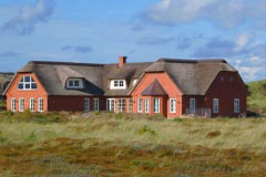 Holiday home with a pool for 22 persons on the west coast of Jutland