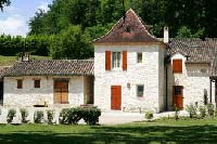 Country house along a stream in Dordogne