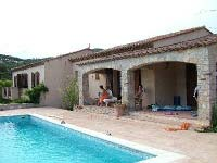 "Holiday house with pool in villa district ""Val Orea"""