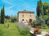Renovated farm house in Volterra