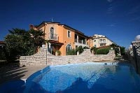 This pool is an inviting cool-off