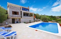 Pool villa on Korcula