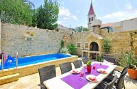 Terrace and pool invite you to linger
